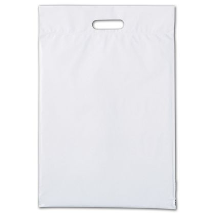 """Web White Hurry-Up Courier Bags, 14 x 21 1/2"""" + 3"""" Flap"""