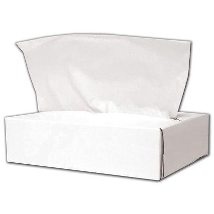 "White High Touch Tissue Paper, 8 x 10 3/4"""