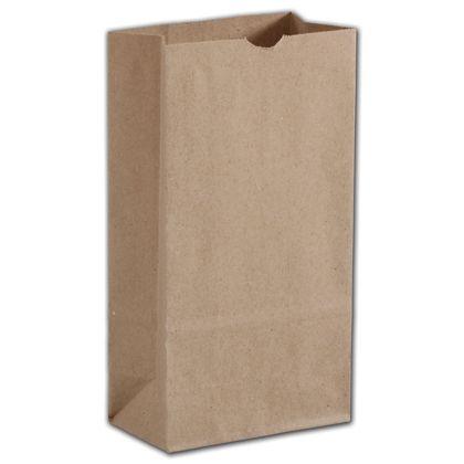 "Kraft Hardware Bags, 4 1/4 x 2 3/8 x 8 3/16"""