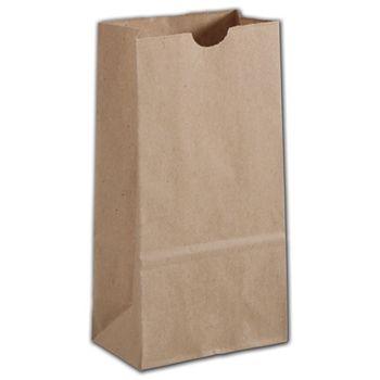 Kraft Hardware Bags, 5 x 3 1/8 x 9 5/8
