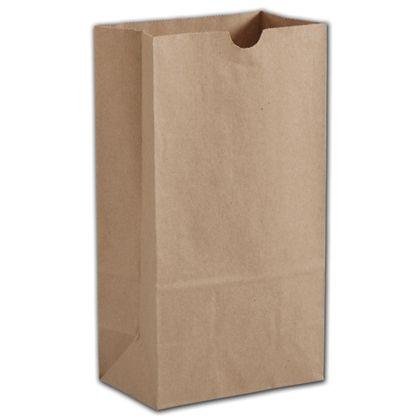 "Kraft Hardware Bags, 6 x 3 5/8 x 11 1/16"""
