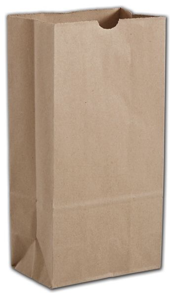 Kraft Hardware Bags, 6 9/16 x 4 1/16 x 13 3/16