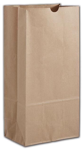 Kraft Hardware Bags, 7 11/16 x 4 7/8 x 16 1/16
