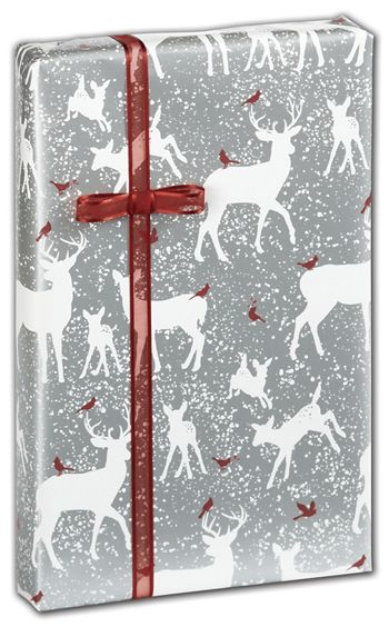 Woodland Forest Gift Wrap, 24