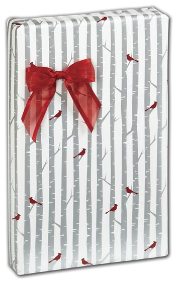 Cardinal Frost Gift Wrap, 24
