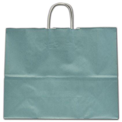 "Celestial Blue Ice Shoppers, 16 x 6 x 12 1/2"""