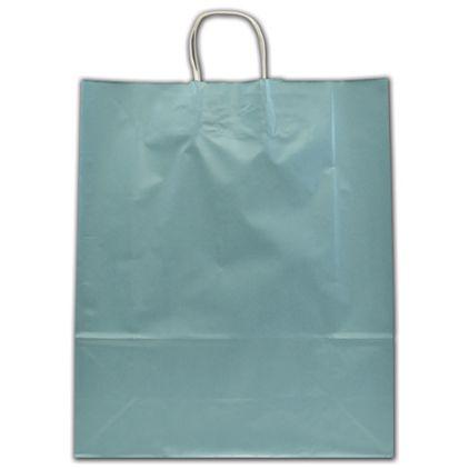 "Celestial Blue Ice Shoppers, 16 x 6 x 19 1/4"""
