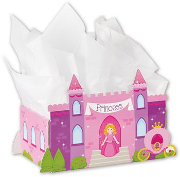 Princess Castle Intricut Basket Boxes, 11 3/4 x 6 x 7 3/8
