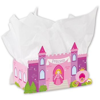 Princess Castle Intricut Basket Boxes, 8 1/4x4 1/4x5 3/16
