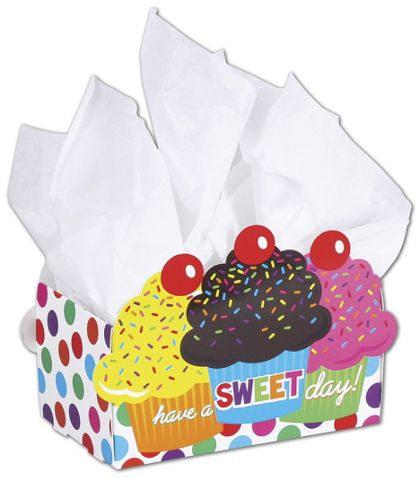 Have A Sweet Day Intricut Basket Boxes, 7 7/8x4 1/4x5 3/8""