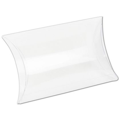 Clear Pillow Boxes, 5 1/2 x 3 1/2 x 3/4""