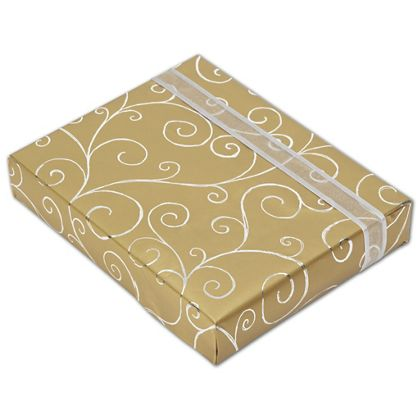 "Classy Curls Jeweler's Roll Gift Wrap, 7 3/8"" x 150'"