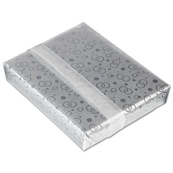 Elegant Rings Jeweler's Roll Gift Wrap, 7 3/8