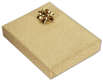 """Gold Stardust Jeweler's Roll Gift Wrap, 7 3/8"""" x 150'"""