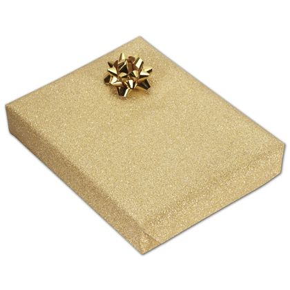 "Gold Stardust Jeweler's Roll Gift Wrap, 7 3/8"" x 150'"