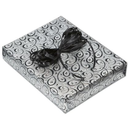 "Midnight Masquerade Jeweler's Roll Gift Wrap, 7 3/8""x150'"