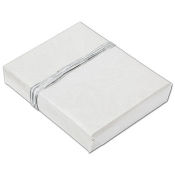 White Frost Jeweler's Roll Gift Wrap, 7 3/8
