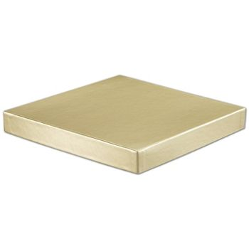 Gold Hi-Wall Gift Box Lids, 10 x 10