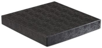 Black Swirl Hi-Wall Gift Box Lids, 10 x 10