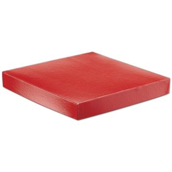Red Hi-Wall Gift Box Lids, 10 x 10