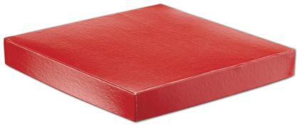 Red Hi-Wall Gift Box Lids, 10 x 10""