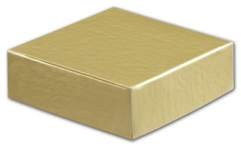 Gold Hi-Wall Gift Box Lids, 4 x 4