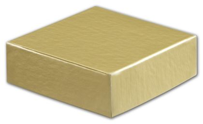 Gold Hi-Wall Gift Box Lids, 4 x 4""
