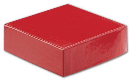 "Red Hi-Wall Gift Box Lids, 4 x 4"""