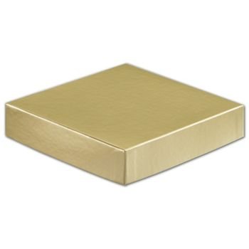 Gold Hi-Wall Gift Box Lids, 6 x 6