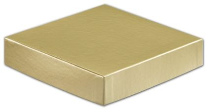 Gold Hi-Wall Gift Box Lids, 6 x 6""