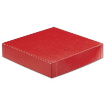 Red Hi-Wall Gift Box Lids, 6 x 6