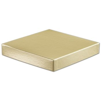 Gold Hi-Wall Gift Box Lids, 8 x 8""