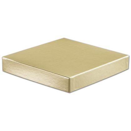 "Gold Hi-Wall Gift Box Lids, 8 x 8"""