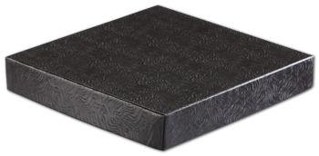 Black Swirl Hi-Wall Gift Box Lids, 8 x 8