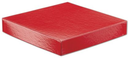 Red Hi-Wall Gift Box Lids, 8 x 8""