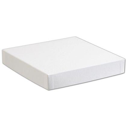 "White Hi-Wall Gift Box Lids, 8 x 8"""