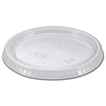 Clear EmpressTM Premium Lids for 4 Ounce Portion Cups