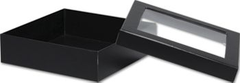 Black Rigid Gourmet Window Boxes, Large