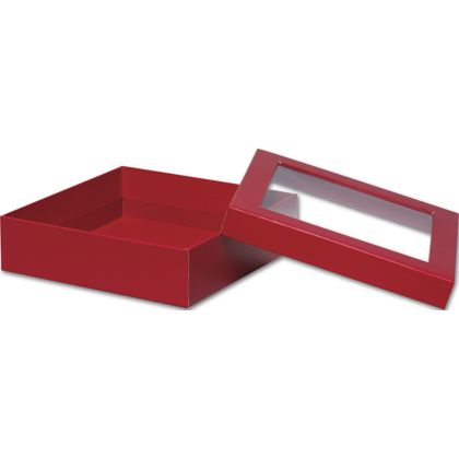 Red Rigid Gourmet Window Boxes, Large
