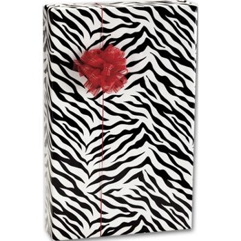 Zebra Stripes Gift Wrap, 24