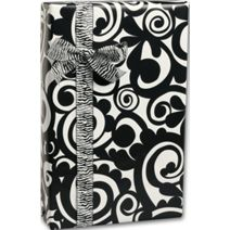 "Bold Scroll Gift Wrap, 24"" x 417'"