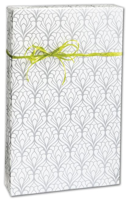 "Deco Flourish Gift Wrap, 24"" x 100'"