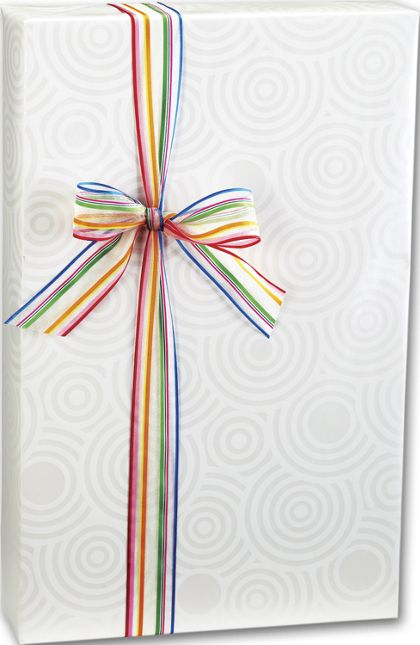 "Pearl Ripples Gift Wrap, 24"" x 100'"