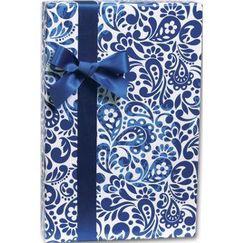Batik Scroll Gift Wrap, 24