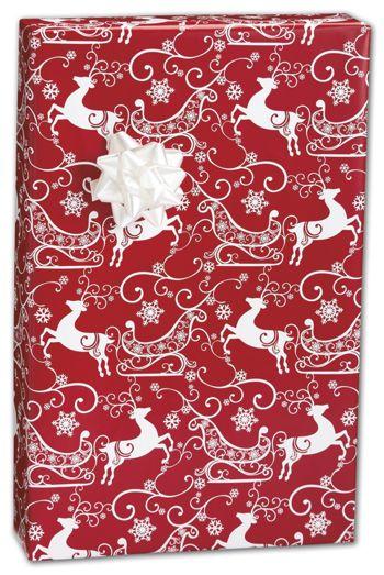 Sleigh Ride Gift Wrap, 24