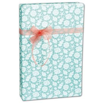 Seashells Gift Wrap, 24
