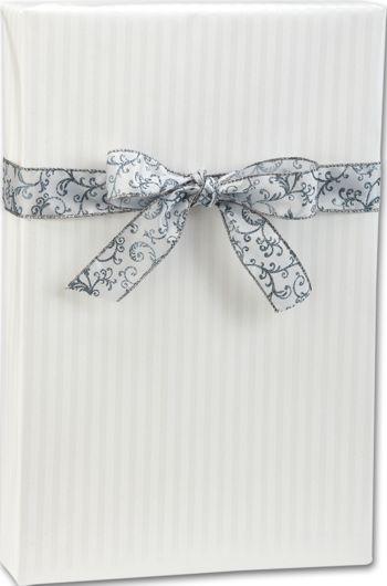 Pearl Stripe Gift Wrap, 24