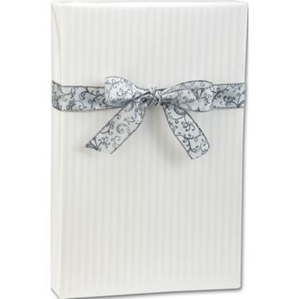 """Pearl Stripe Gift Wrap, 24"""" x 100'"""