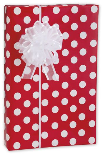 Cherry dots Gift Wrap, 24