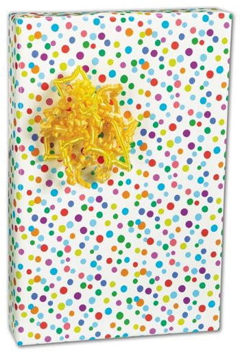 Ditty Dots Gift Wrap, 24